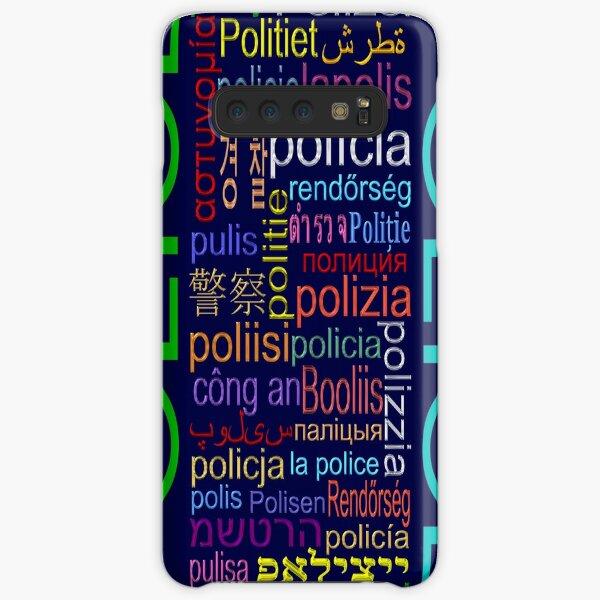 Police Samsung Galaxy Snap Case
