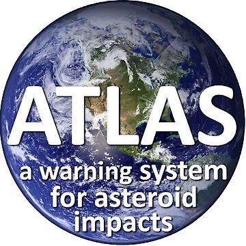 ATLAS:  The Asteroid Terrestrial-impact Last Alert System Logo by Quatrosales
