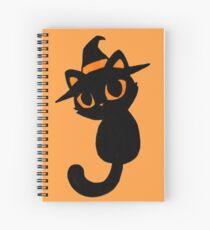 Halloween Kitten Spiral Notebook
