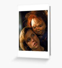 Child's Play 2 - Kyle & Chucky Greeting Card
