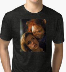 Child's Play 2 - Kyle & Chucky Tri-blend T-Shirt