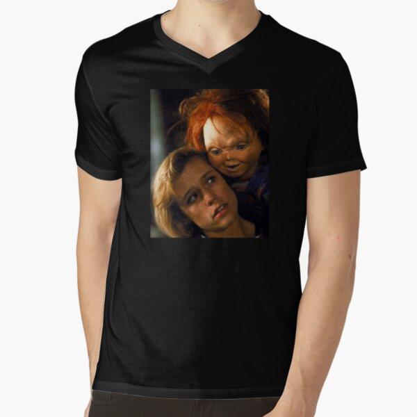 Child's Play 2 - Kyle & Chucky V-Neck T-Shirt