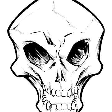 Skull Shirt  by JosefLiner