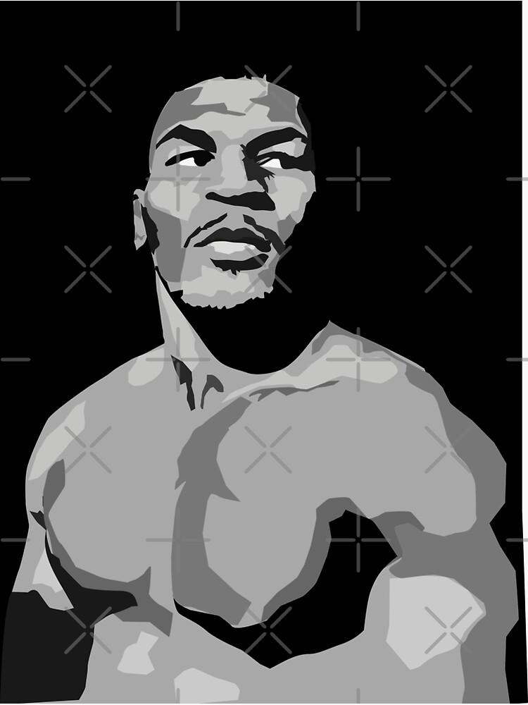 Iron Mike Tyson by mayerarts