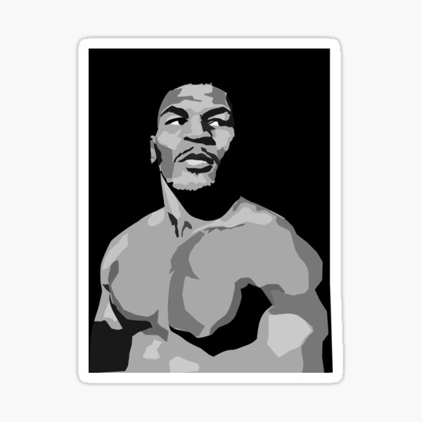 Iron Mike Tyson Sticker