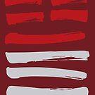 34 Great Power I Ching Hexagram by SpiritStudio