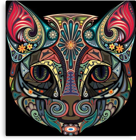 «gato mandala» de Rawan3zz