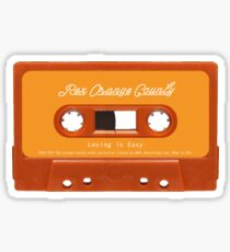 REX ORANGE COUNTY - LOVING IS EASY CASSETTE Sticker