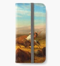 The Last of the Buffalo iPhone Wallet/Case/Skin