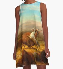 The Last of the Buffalo A-Line Dress