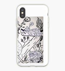 Flora Fauna iPhone Case
