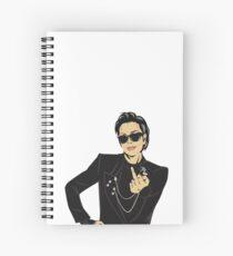 kris jenner f Spiral Notebook