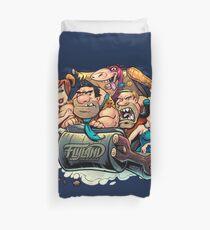 Flintstones Parody Duvet Cover