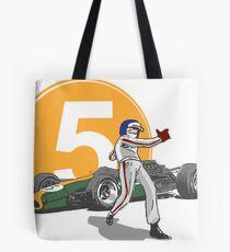 Speed Racer - Jim Clark Tote Bag
