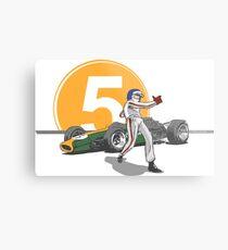 Speed Racer - Jim Clark Metal Print