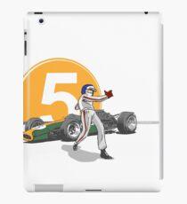 Speed Racer - Jim Clark iPad Case/Skin