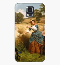 Mrs. Schuyler Burning Her Wheat Fields on the Approach of the British Case/Skin for Samsung Galaxy