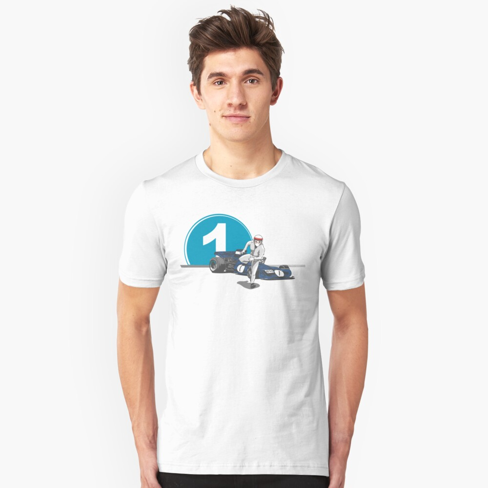 Speed Racer - Jackie Stewart Slim Fit T-Shirt