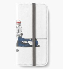 Speed Racer - Jackie Stewart iPhone Wallet/Case/Skin