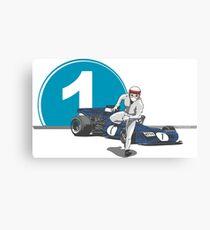 Speed Racer - Jackie Stewart Canvas Print