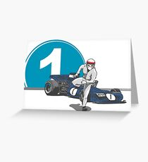 Speed Racer - Jackie Stewart Greeting Card