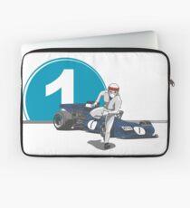 Speed Racer - Jackie Stewart Laptop Sleeve