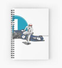 Speed Racer - Jackie Stewart Spiral Notebook