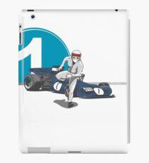 Speed Racer - Jackie Stewart iPad Case/Skin