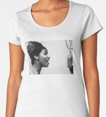 Aretha Franklin Women's Premium T-Shirt