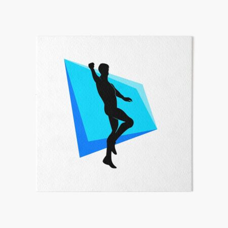 Hype Dance Art Board Prints Redbubble