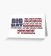 Big Bend National Park Texas Greeting Card