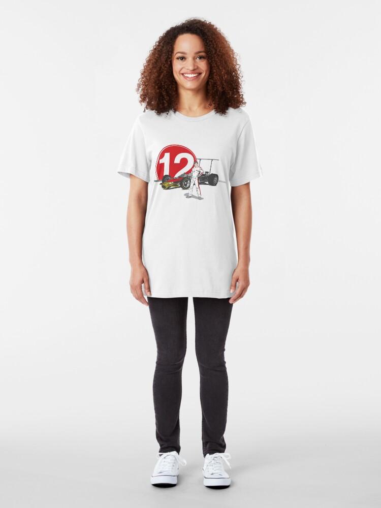 Alternate view of Speed Racer - Mario Andretti Slim Fit T-Shirt