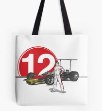 Speed Racer - Mario Andretti Tote Bag