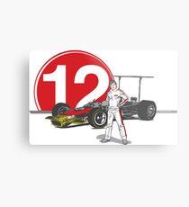 Speed Racer - Mario Andretti Metal Print