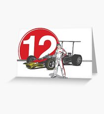 Speed Racer - Mario Andretti Greeting Card