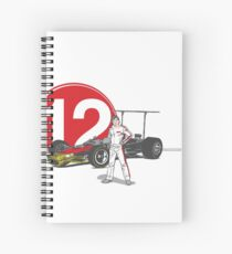 Speed Racer - Mario Andretti Spiral Notebook