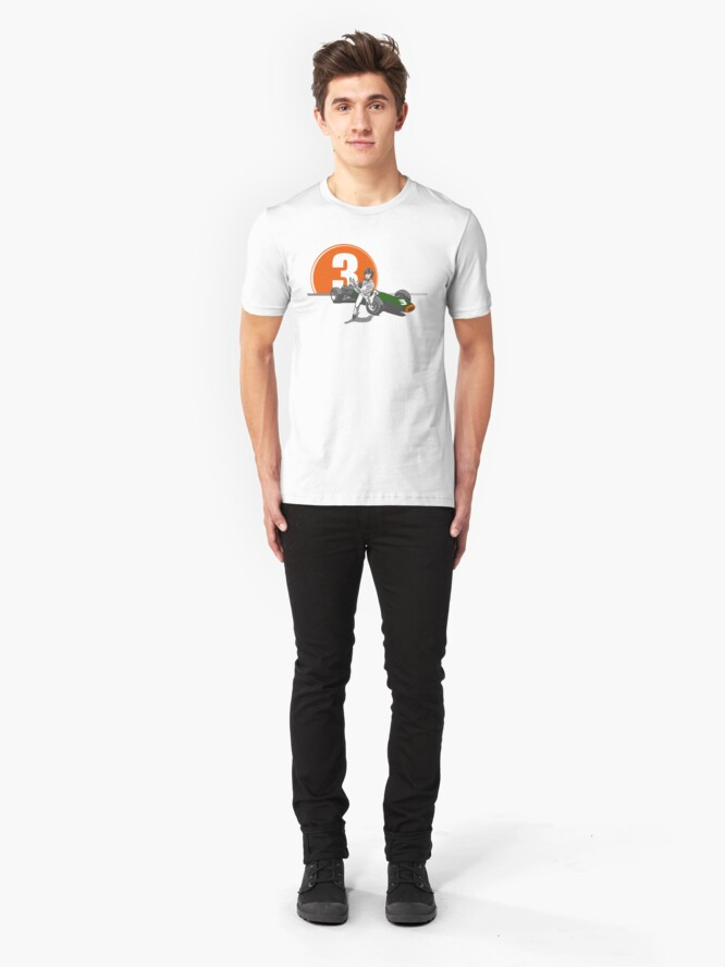 Alternate view of Speed Racer - Graham Hill  Slim Fit T-Shirt