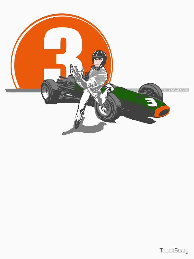 Speed Racer - Graham Hill  by TrackSwag