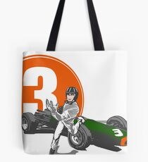 Speed Racer - Graham Hill  Tote Bag