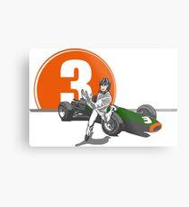 Speed Racer - Graham Hill  Metal Print