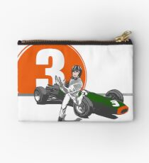 Speed Racer - Graham Hill  Zipper Pouch