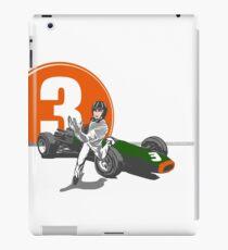 Speed Racer - Graham Hill  iPad Case/Skin