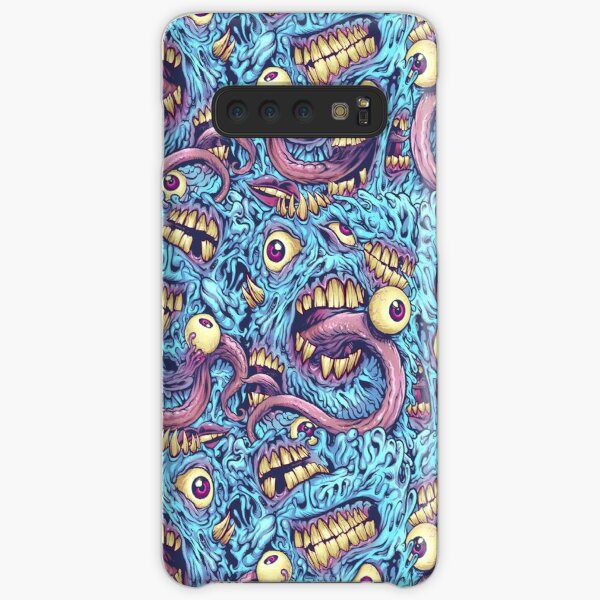 Eyeballs and Teeth Pattern Samsung Galaxy Snap Case