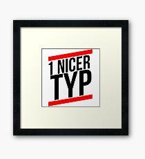 1 Nicer type Framed Print