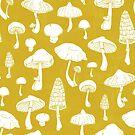 « champignons à la moutarde » par Michelle doran
