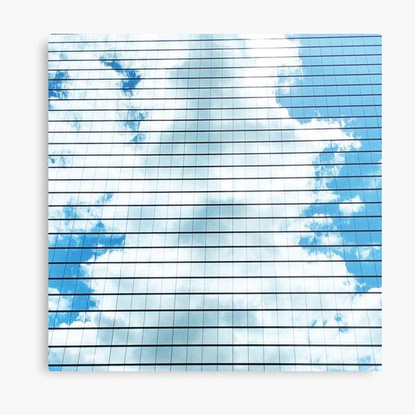World of Pixels Metal Print