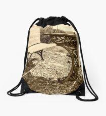 Schoolhouse Desks Drawstring Bag