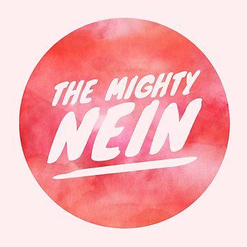 Mighty Nein Retro Logo - Rose by JMendezArt