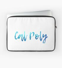 Cal Poly Waves Laptop Sleeve