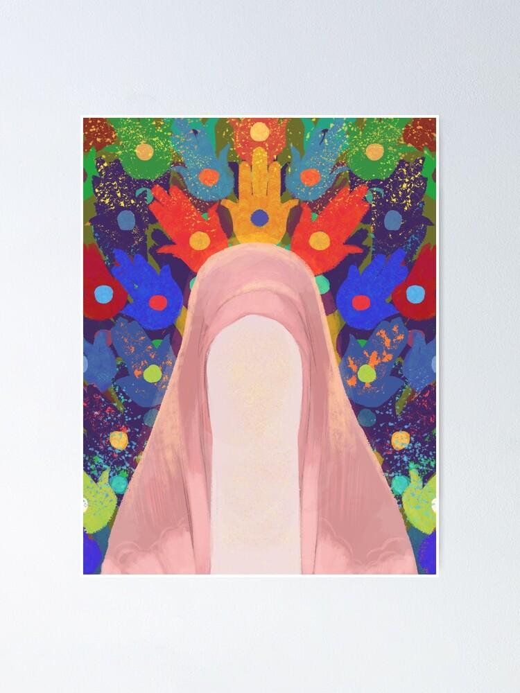 Alternate view of Fatima al-Zahra Poster